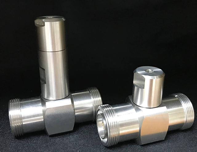 λ/4型DIN形避雷器/同軸コネクタでお困りのお客様へ。三英電気工業へお任せください!:同軸コネクタ設計製造